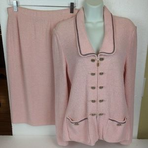 ST.JOHN COLLECTION  MARIE GRAY  Jacket Skirt Suit